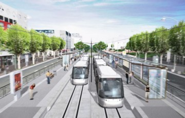 Video tramway Vitry